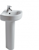 Ideal Standard Connect - Corner washbasin 340 mm leg length