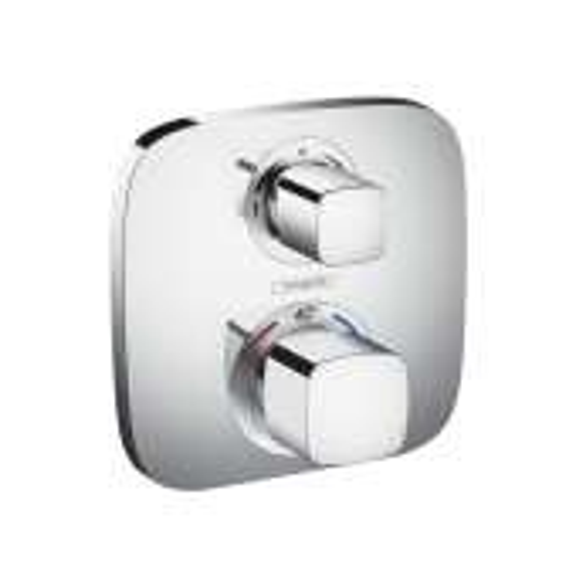 Hansgrohe - Ecostat E Thermostat Unterputz für 2 Verbraucher chrom
