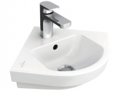Villeroy & Boch Subway 2.0 - Eck-hand basin 320 mm leg length