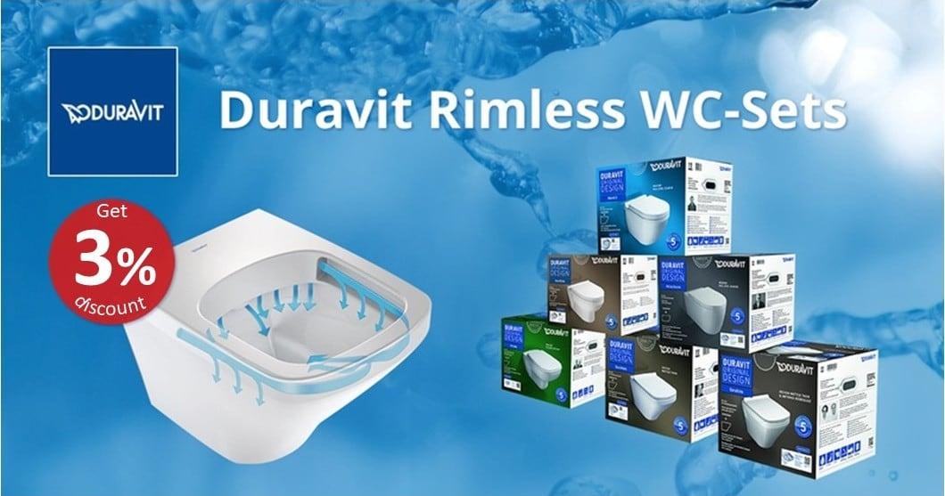 DURAVIT Rimless WC-Sets