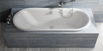 Ideal Standard Connect bathtub round