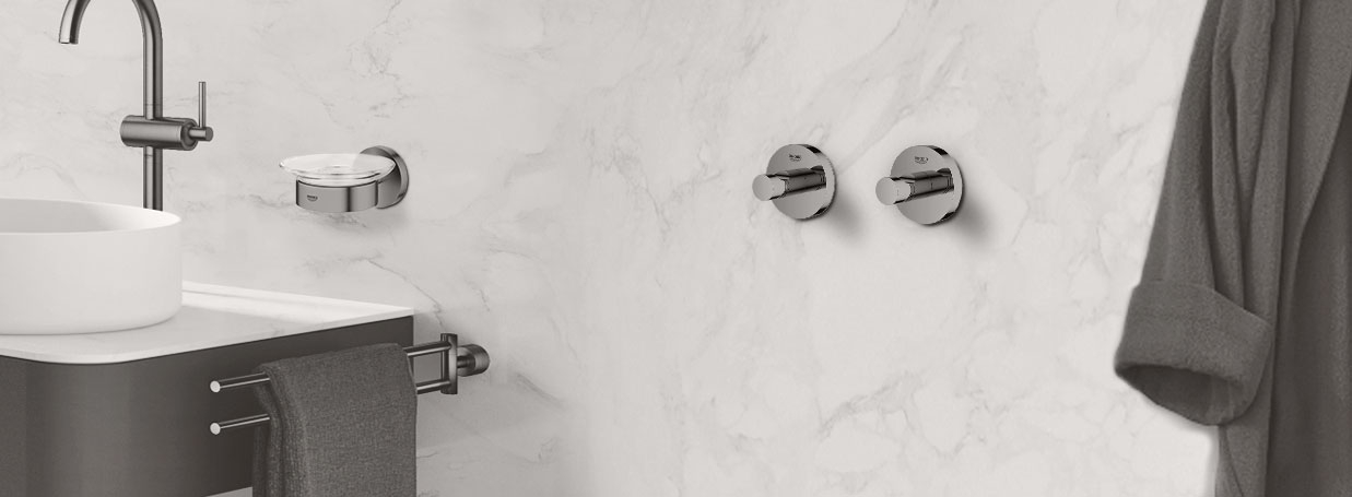 Grohe Essentials bathroom accessories on xTWOStore
