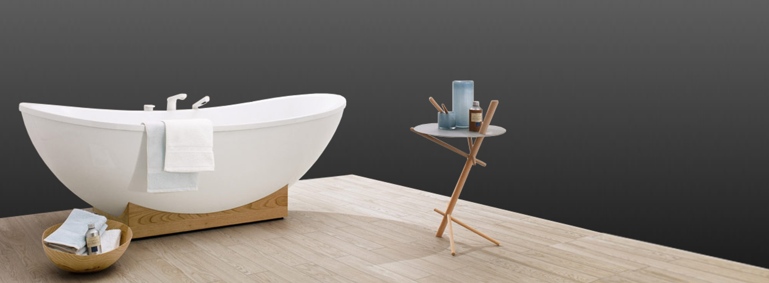 My Nature freestanding bathtub at xTWOstore